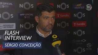 Liga (8ª): Flash Interview Sérgio Conceição