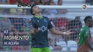 Sporting CP, Jogada, M. Acuña aos 63'