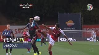 SC Braga, Penálti, Hassan aos 23'