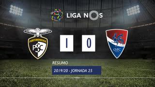 Liga NOS (25ªJ): Resumo Portimonense 1-0 Gil Vicente FC