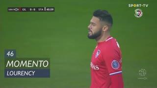 Gil Vicente FC, Jogada, Lourency aos 46'