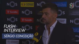Liga (6ª): Flash Interview Sérgio Conceição