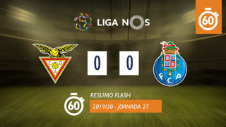 Liga NOS (27ªJ): Resumo Flash CD Aves 0-0 FC Porto