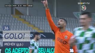 GOLO! Rio Ave FC, Mehdi aos 36', Moreirense FC 0-1 Rio Ave FC