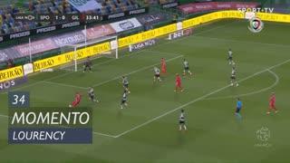 Gil Vicente FC, Jogada, Lourency aos 34'