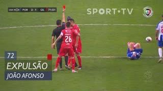 Gil Vicente FC, Expulsão, João Afonso aos 72'