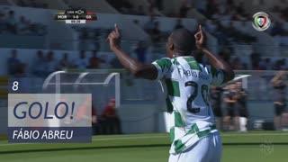 GOLO! Moreirense FC, Fábio Abreu aos 8', Moreirense FC 1-0 Gil Vicente FC