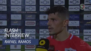 Liga (11ª): Flash Interview Rafael Ramos