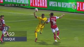 FC P.Ferreira, Caso, Tanque aos 23'