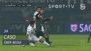 Vitória FC, Caso, Éber Bessa aos 34'