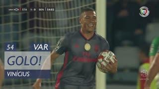 GOLO! SL Benfica, Vinícius aos 54', Santa Clara 1-1 SL Benfica