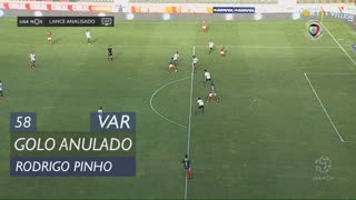 Marítimo M., Golo Anulado, Rodrigo Pinho aos 58'