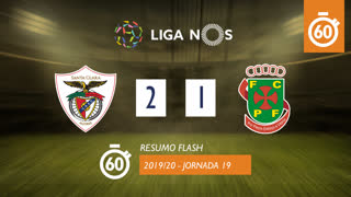I Liga (19ªJ): Resumo Flash Santa Clara 2-1 FC P.Ferreira