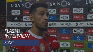 Liga (1ª): Flash Interview Pizzi
