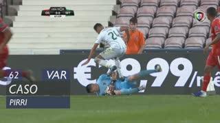 Vitória FC, Caso, Pirri aos 62'