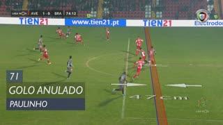 SC Braga, Golo Anulado, Paulinho aos 71'