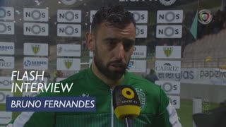 Liga (10ª): Flash Interview Bruno Fernandes