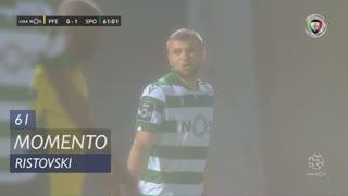 Sporting CP, Jogada, Ristovski aos 61'