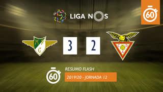 Liga NOS (12ªJ): Resumo Flash Moreirense FC 3-2 CD Aves