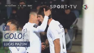 GOLO! Rio Ave FC, Lucas Piazon aos 2', Rio Ave FC 1-0 Sporting CP