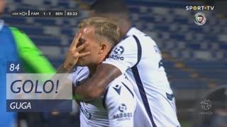 GOLO! FC Famalicão, Guga aos 84', FC Famalicão 1-1 SL Benfica
