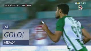 GOLO! Rio Ave FC, Mehdi aos 34', Rio Ave FC 1-2 SC Braga