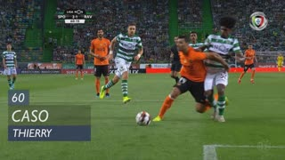 Sporting CP, Caso, Thierry aos 60'