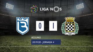 Liga NOS (4ªJ): Resumo Belenenses 0-1 Boavista FC