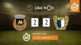 Liga NOS (19ªJ): Resumo Flash Rio Ave FC 2-2 FC Famalicão