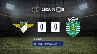 Liga NOS (30ªJ): Resumo Moreirense FC 0-0 Sporting CP