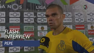 Liga (7ª): Flash Interview Pepe