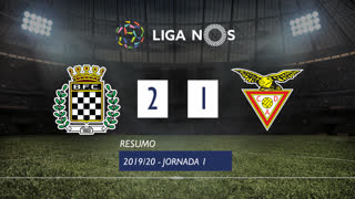 I Liga (1ªJ): Resumo Boavista FC 2-1 CD Aves