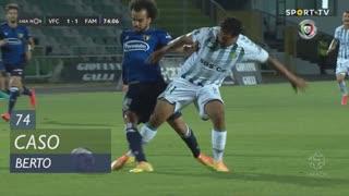 Vitória FC, Caso, Berto aos 74'