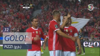 GOLO! SL Benfica, Pizzi aos 32', SL Benfica 2-0 FC P.Ferreira