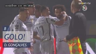 GOLO! FC Famalicão, Diogo Gonçalves aos 8', FC Famalicão 2-0 Sporting CP