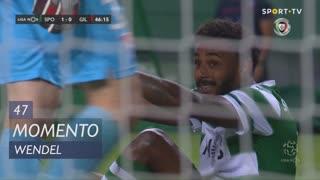 Sporting CP, Jogada, Wendel aos 47'