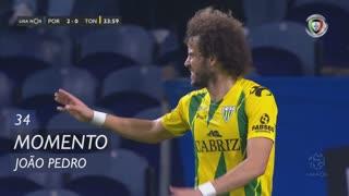 CD Tondela, Jogada, João Pedro aos 34'