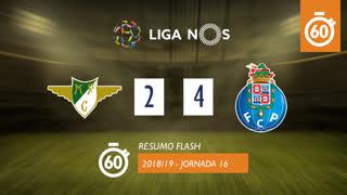 Liga NOS (16ªJ): Resumo Flash Moreirense FC 2-4 FC Porto