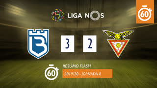 Liga NOS (8ªJ): Resumo Flash Belenenses 3-2 CD Aves