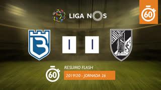 I Liga (26ªJ): Resumo Flash Belenenses SAD 1-1 Vitória SC
