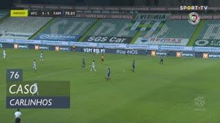 Vitória FC, Caso, Carlinhos aos 76'