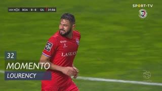 Gil Vicente FC, Jogada, Lourency aos 32'
