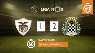 Liga NOS (12ªJ): Resumo Flash Santa Clara 1-2 Boavista FC