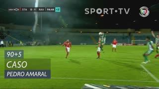 Rio Ave FC, Caso, Pedro Amaral aos 90'+5'