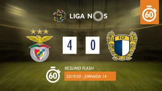 Liga NOS (14ªJ): Resumo Flash SL Benfica 4-0 FC Famalicão