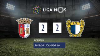 Liga NOS (10ªJ): Resumo SC Braga 2-2 FC Famalicão