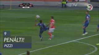 SL Benfica, Penálti, Pizzi aos 9'