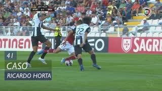SC Braga, Caso, Ricardo Horta aos 41'