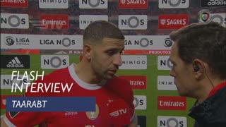 Liga (21ª): Flash Interview Taarabt