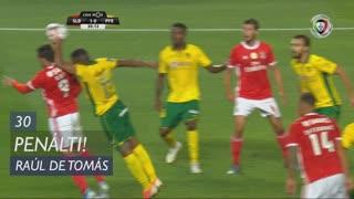 SL Benfica, Penálti, Raúl de Tomás aos 30'